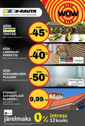 K-RAUTA - Kliendileht (23.07.2020 - 20.08.2020)