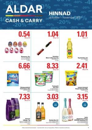 ALDAR - Cash & Carry (01.10.2021 - 30.11.2021)
