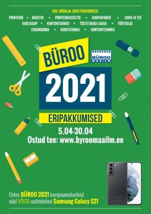 BÜROOMAAILM (05.04.2021 - 30.04.2021)