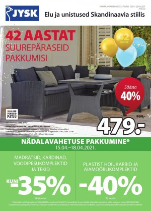 JYSK (13.04.2021 - 26.04.2021)